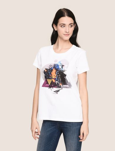 WOMENS STREET ART SERIES BIKOPS TEE