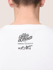 ARMANI EXCHANGE STREET ART SERIES ALEX LEHOURS CREWNECK TEE Non-logo Tee Man b