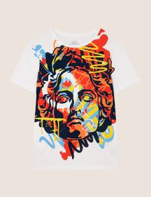 ARMANI EXCHANGE STREET ART SERIES ALEX LEHOURS CREWNECK TEE Non-logo Tee Man r