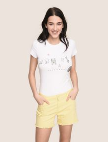 ARMANI EXCHANGE Denim-Shorts Damen a