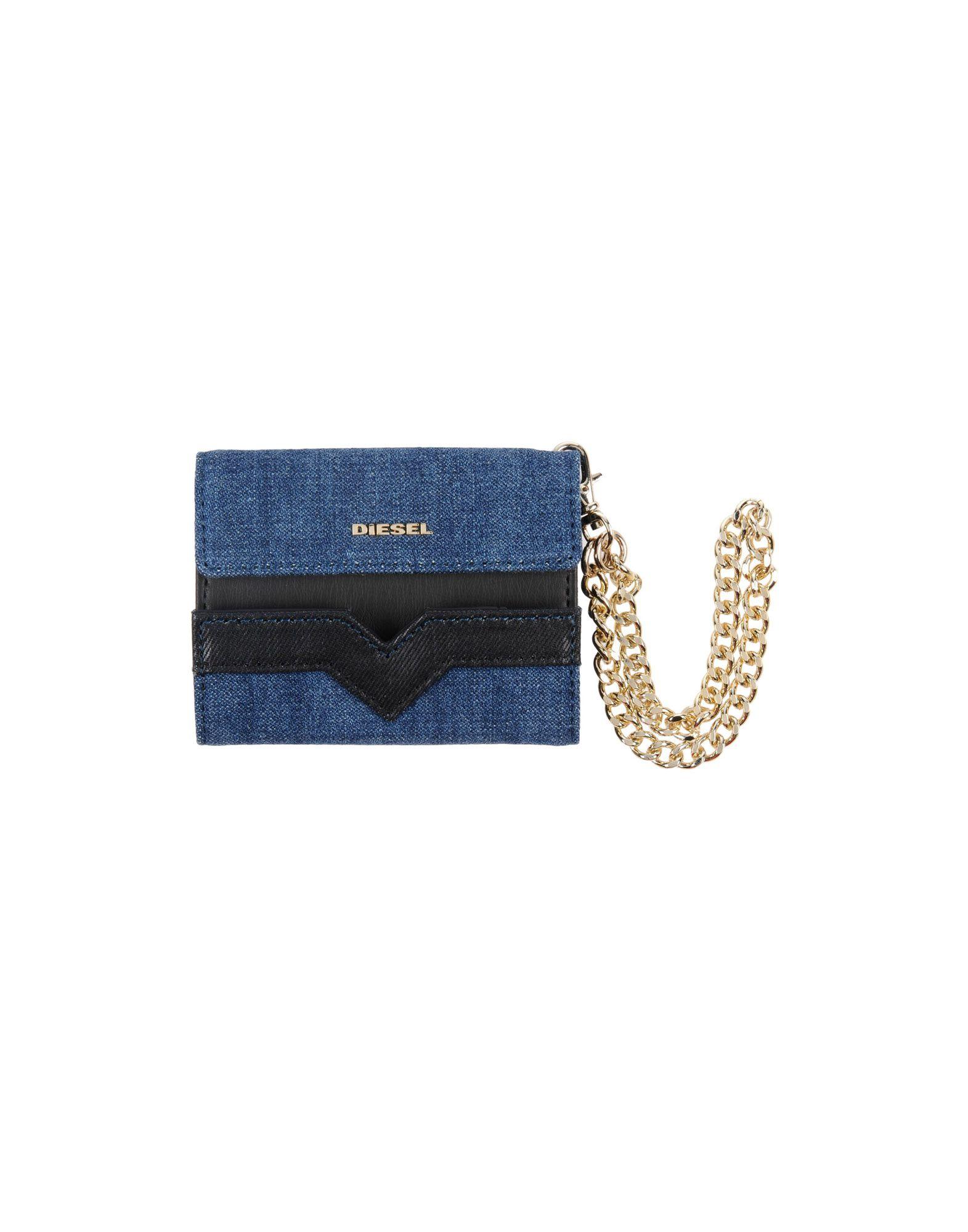 レディース ディ-ゼル 財布  ブルー
