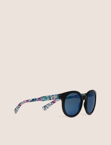 STREET ART SERIES ALEX LEHOURS ROUND SUNGLASSES