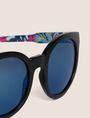 ARMANI EXCHANGE STREET ART SERIES ALEX LEHOURS ROUND SUNGLASSES Sunglass Woman e