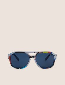 ARMANI EXCHANGE STREET ART SERIES VALENTINA BROSTEAN AVIATOR Sunglass Man r