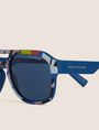 ARMANI EXCHANGE STREET ART SERIES VALENTINA BROSTEAN AVIATOR Sunglass Man d