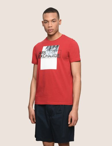PALM FRONDS LOGO TEE
