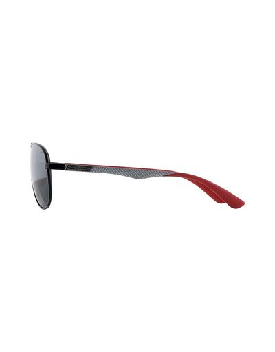 Scuderia Ferrari Online Store - Ray-Ban x Scuderia Ferrari Aviator Carbon Fibre Black 0RB8313M - Sunglasses
