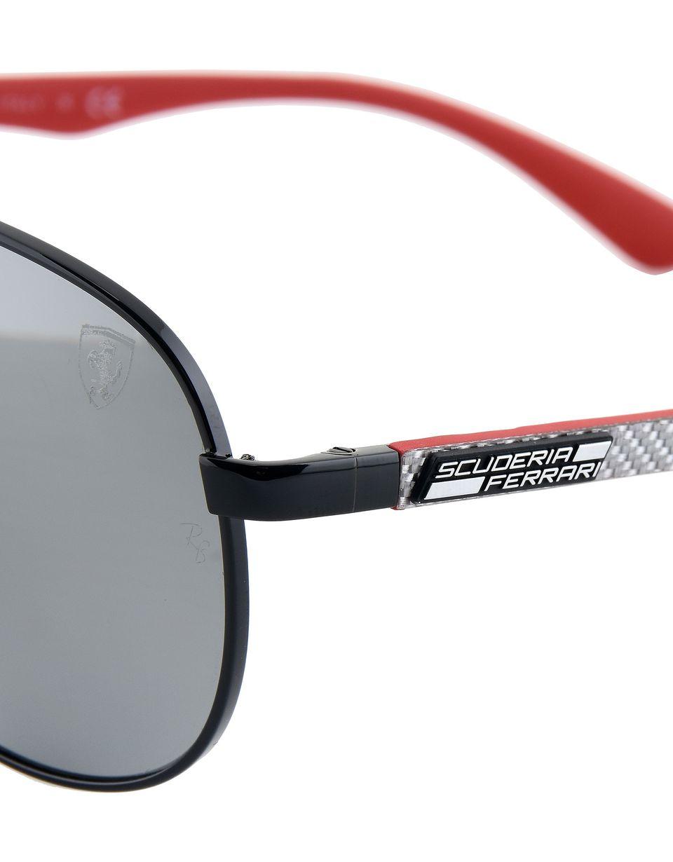 Scuderia Ferrari Online Store - Ray-Ban for Scuderia Ferrari Aviator Carbon Fibre nero 0RB8313M - Occhiali da Sole