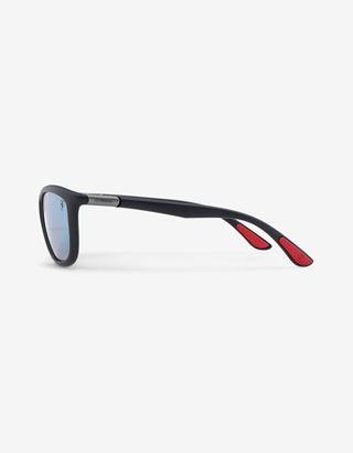 Scuderia Ferrari Online Store - Ray-Ban for Scuderia Ferrari 0RB8351M matte black - Sunglasses