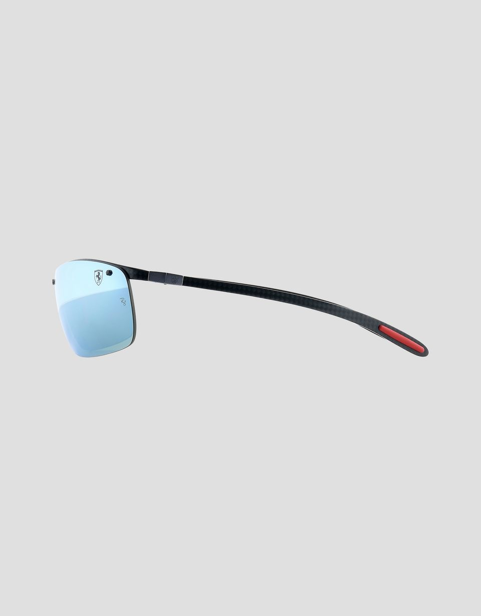 Scuderia Ferrari Online Store - Ray-Ban for Scuderia Ferrari Full Bar Carbon Fibre nero 0RB8305M -