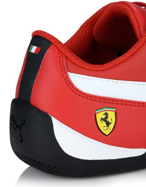 Scuderia Ferrari Online Store - Кроссовки Scuderia Ferrari Drift Cat 7 для детей - Active Sport Shoes