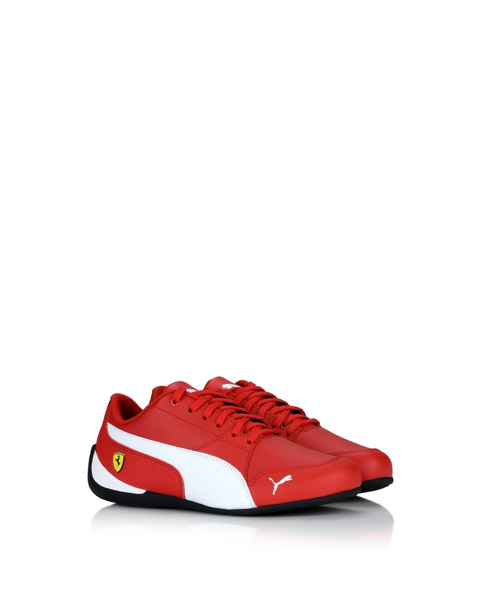 Scuderia Ferrari Online Store - Scuderia Ferrari Drift Cat 7 Sneakers for teens -