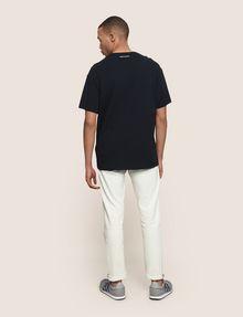 ARMANI EXCHANGE OVERSIZED FLORAL LOGO TEE Logo T-shirt Man e