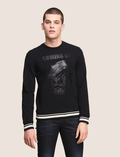 TONAL BULLDOG SWEATSHIRT TOP