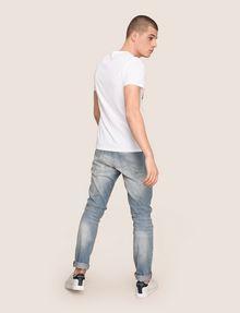 ARMANI EXCHANGE CLASH SOUNDWAVE LOGO TEE Logo T-shirt Man e
