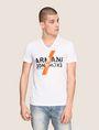 ARMANI EXCHANGE CLASH SOUNDWAVE LOGO TEE Logo T-shirt Man f
