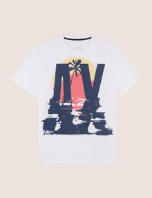 ARMANI EXCHANGE T-Shirt mit Grafik Herren r