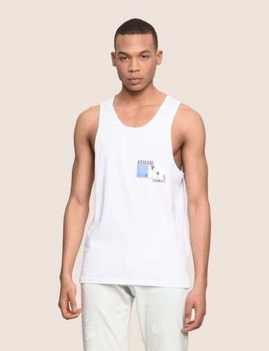 PALM LOGO RELAXED TANK