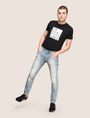 ARMANI EXCHANGE SLIM-FIT DESTROYED MESSAGE JEANS Slim fit JEANS Man d