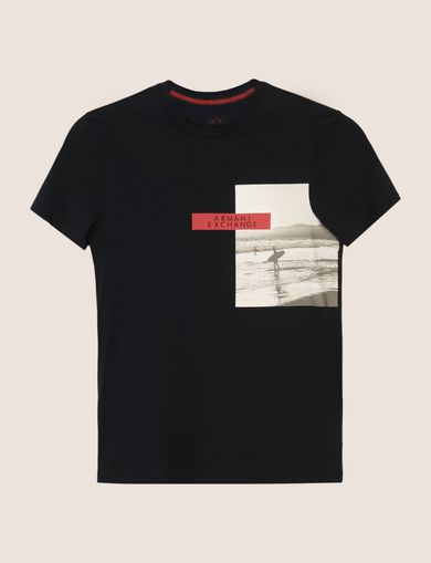 OFFSET SURFER PHOTO TEE