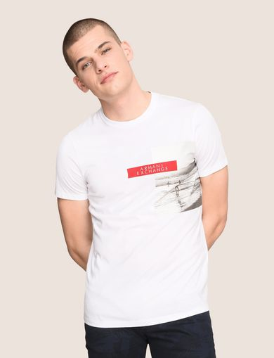 ARMANI EXCHANGE Graphic T-shirt Man F