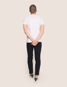 ARMANI EXCHANGE OFFSET SURFER PHOTO TEE Logo T-shirt Man e