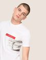 ARMANI EXCHANGE OFFSET SURFER PHOTO TEE Logo T-shirt Man a