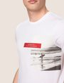 ARMANI EXCHANGE OFFSET SURFER PHOTO TEE Logo T-shirt Man b