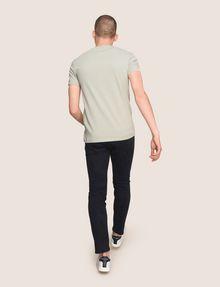 ARMANI EXCHANGE WAVE LOGO V-NECK Logo T-shirt Man e