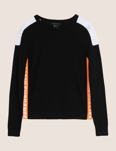 NEON LOGO CREWNECK SWEATER