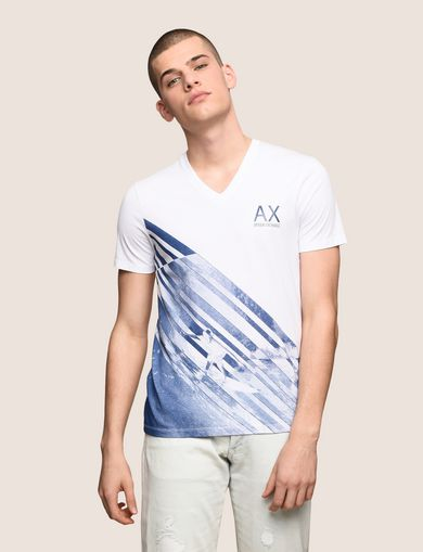 FADED WAVES SURFER TEE