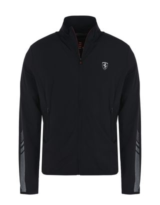 Scuderia Ferrari Online Store - Lightweight sports sweatshirt with full zipper - Zip Sweaters