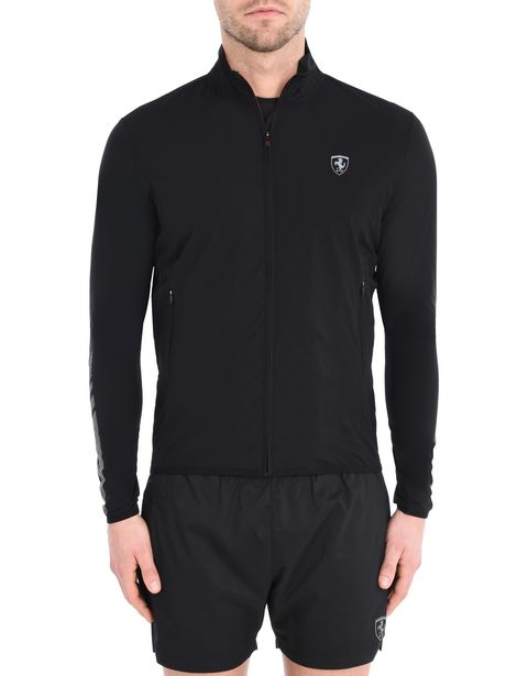 Lightweight sports sweatshirt with full zipper