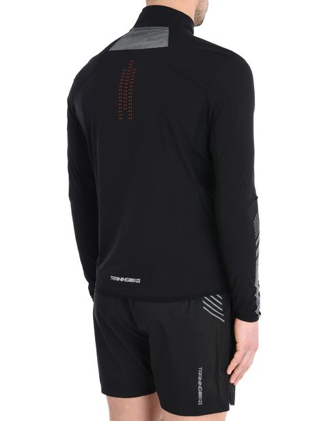 Lightweight full zip sports sweatshirt