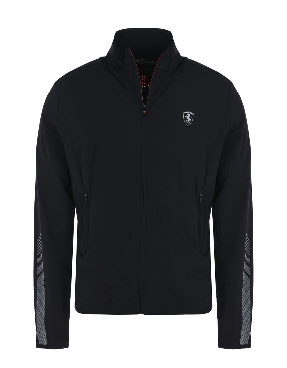 Scuderia Ferrari Online Store - Lightweight full zip sports sweatshirt - Zip Jumpers
