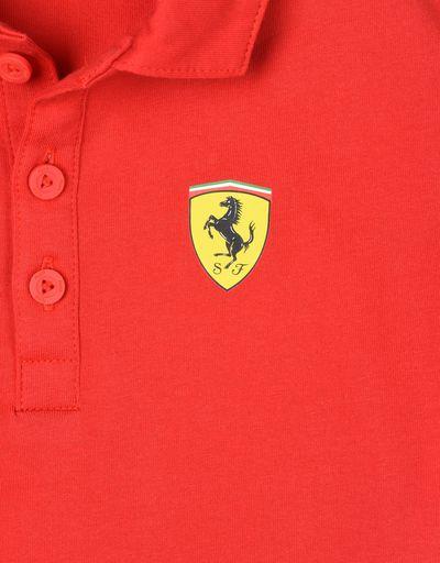 Scuderia Ferrari Online Store - Scuderia Ferrari Replica 2018 polo shirt for teens - Short Sleeve Polos