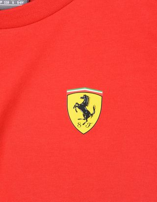 Scuderia Ferrari Online Store - Scuderia Ferrari Replica 2018 T-shirt for teens - Short Sleeve T-Shirts