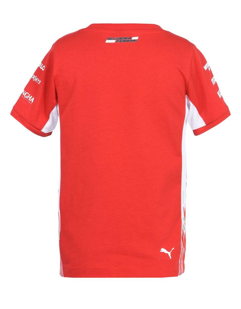 Scuderia Ferrari Online Store - T-shirt Scuderia Ferrari Replica 2018 ragazzo - T-shirt manica corta