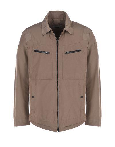Scuderia Ferrari Online Store - Men's field jacket in cotton nylon - Field Jackets