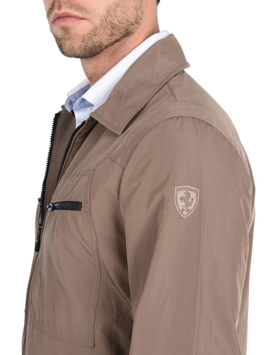 Scuderia Ferrari Online Store - Men's field jacket in cotton nylon -