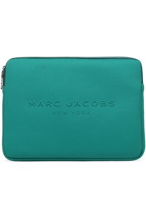 MARC JACOBS Embossed neoprene laptop case