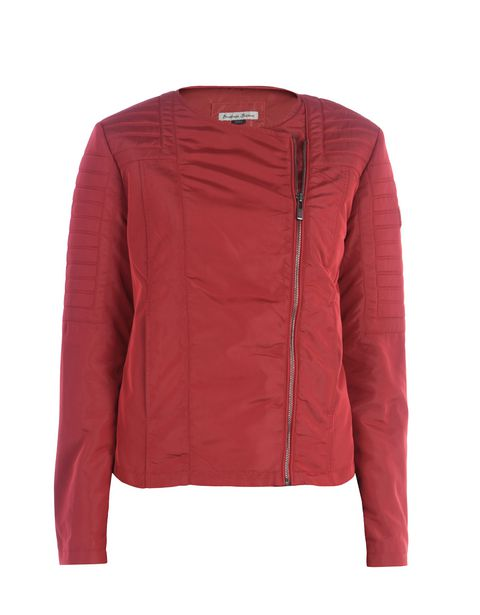Scuderia Ferrari Online Store - Giacca biker donna in nylon - Biker