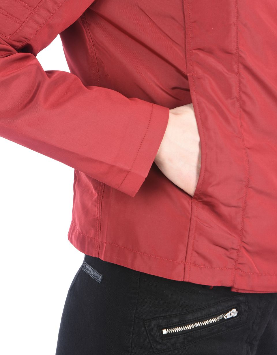 Scuderia Ferrari Online Store - Blouson de motard pour femme en nylon - Blousons de motard