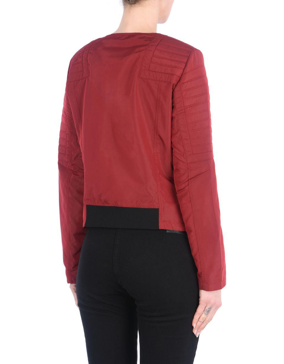 Scuderia Ferrari Online Store - Women's nylon biker jacket - Biker Jackets