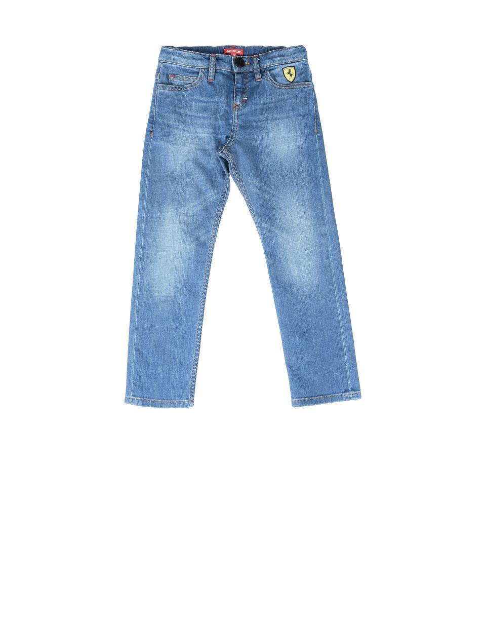 Scuderia Ferrari Online Store - 男童浅色水洗牛仔裤 - 牛仔裤