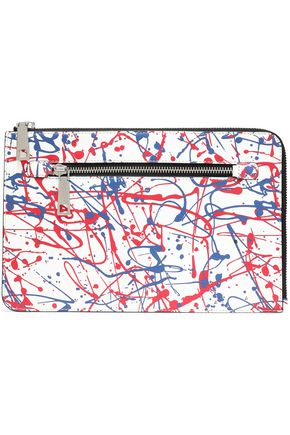 MARC JACOBS Printed leather tablet case