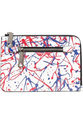 MARC JACOBS Printed textured-leather Kindle case