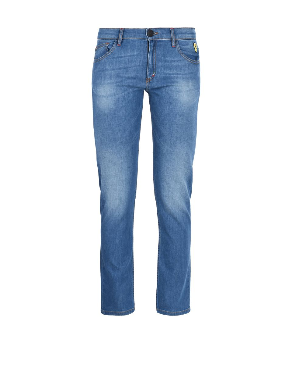 Scuderia Ferrari Online Store - Kinderjeans in heller Waschung - Jeans