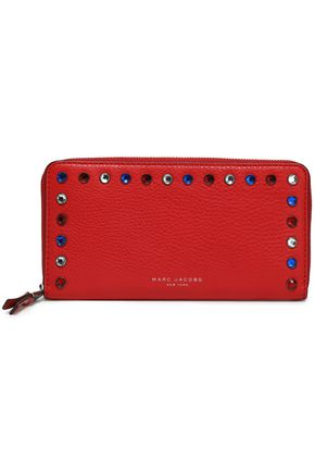 crystal-embellished-leather-wallet by marc-jacobs