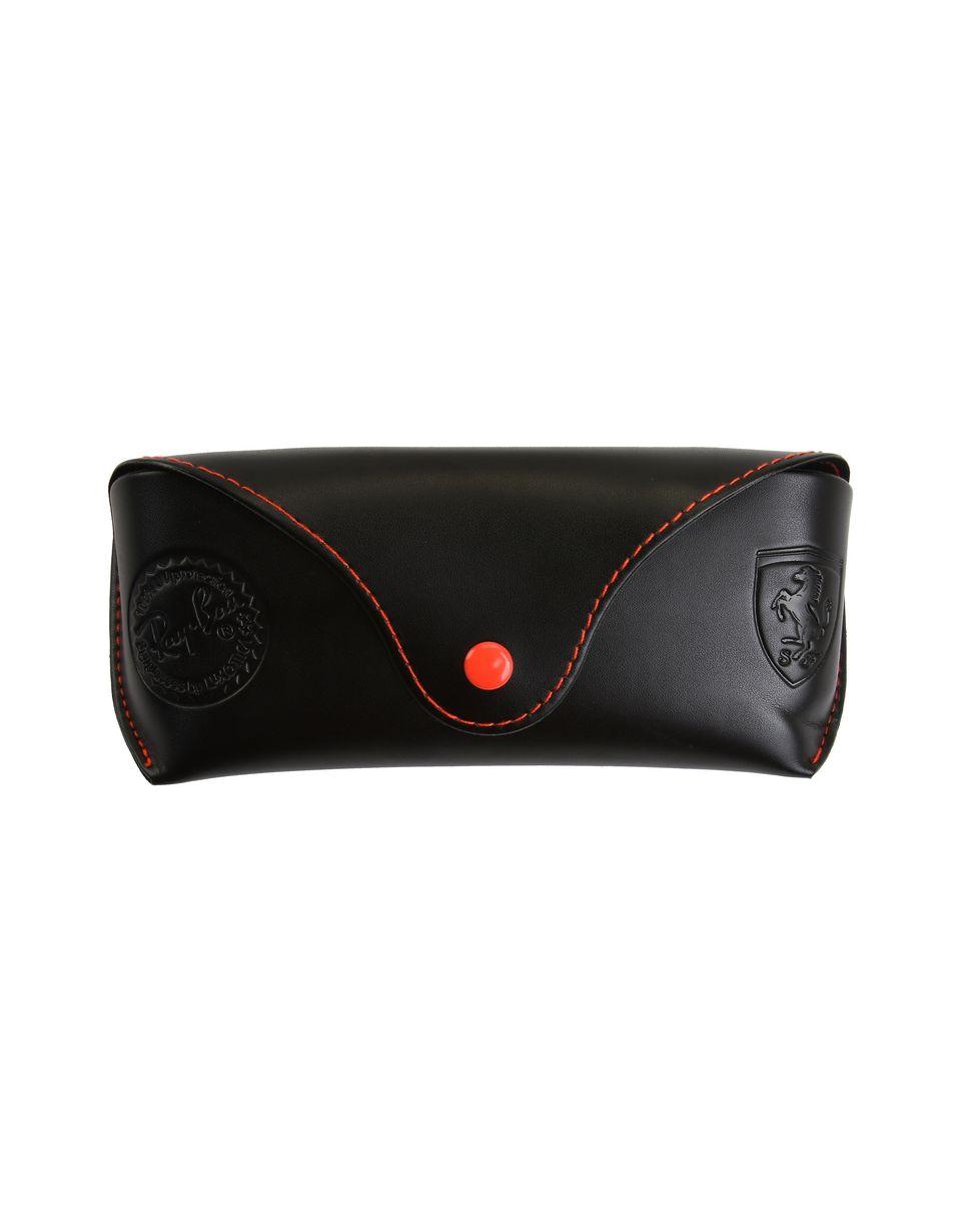 Scuderia Ferrari Online Store - Ray-Ban x Scuderia Ferrari Aviator Carbon Fiber Gunmetal 0RB8313M - Sunglasses